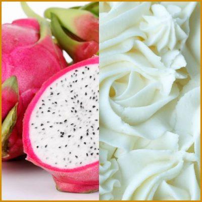 dragonfruit and cream